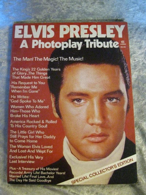Collectible Plate/Figurine MISC ELVIS PRESLEY ELVIS PRESLEY PHOTOPLAY TRIBUTE MA