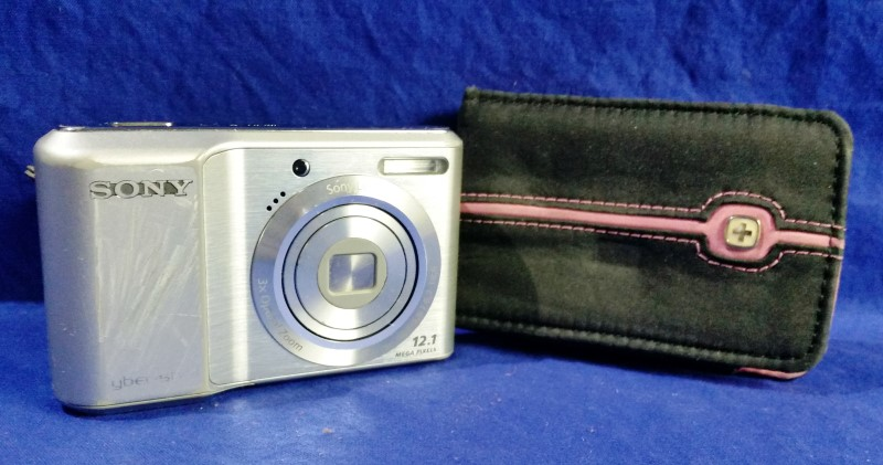 SONY CYBERSHOT DIGITAL CAMERA DSC-S2100