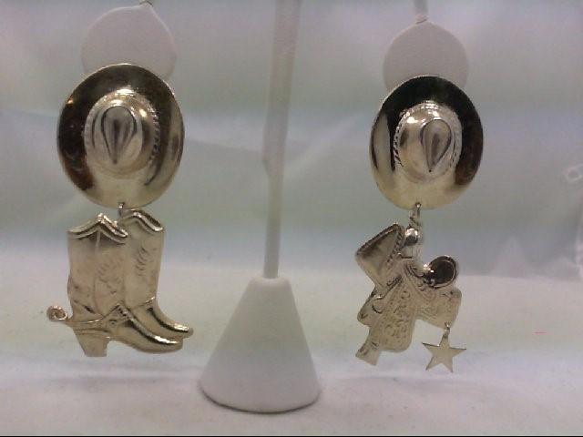 Silver Earrings 925 Silver 18.4g