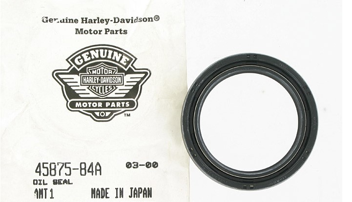 HARLEY DAVIDSON 45875-84A, FRONT FORK SEAL *** SOLD BY 1 EACH***