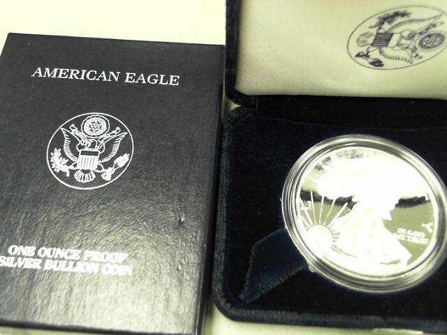 UNITED STATES Silver Coin 1999 SILVER EAGLE