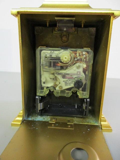 BULOVA TEMPUS FUGIT CLOCK