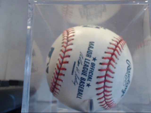 Autographed Signed Mickey Lolich Rawlings Major League Baseball *PLEASE READ*