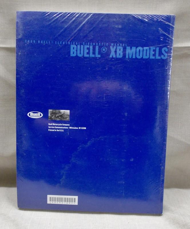 2009 BUELLS ELECTRICAL DIAGNOSTIC MANUAL-XB MODELS-99493-09Y