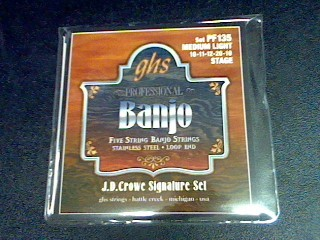 GHS STRINGS Musical Instruments Part/Accessory PF135 FIVE STRING BANJO STRINGS