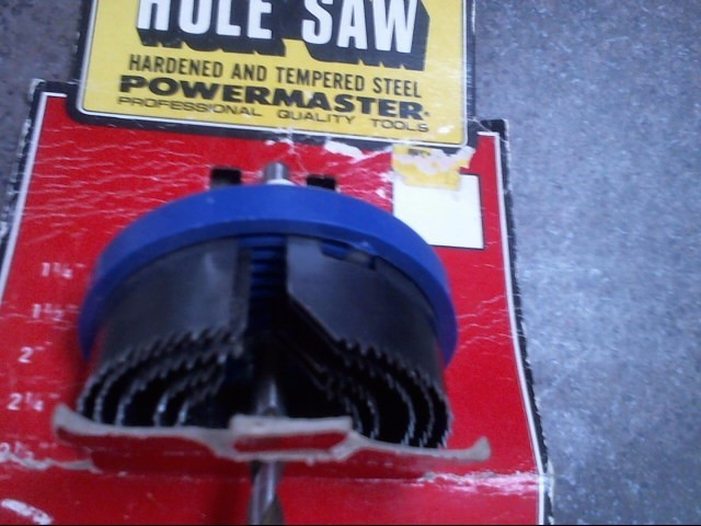 POWER MASTER. Hand Tool 5 PIECE HOLE SAW