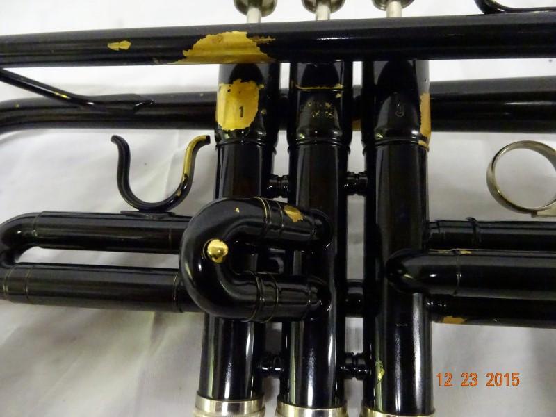 MENDINI MUSICAL INSTRUMENTS Trumpet & Coronet CECILIO MPT-BK