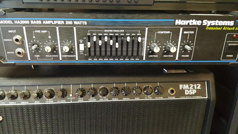 HARTKE Amplifier HA2000