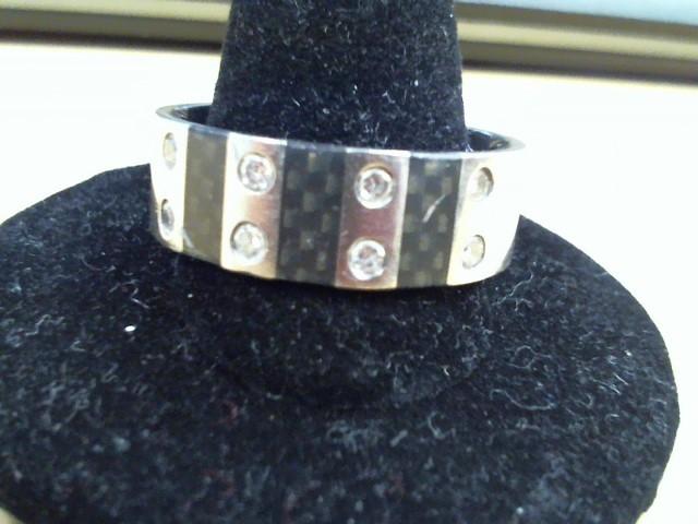 Gent's Ring Black Tungsten 7.4g