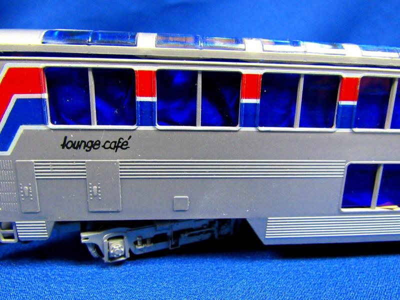 KATO TRAINS AMTRAK SUPERLINER LOUNGE CAFE