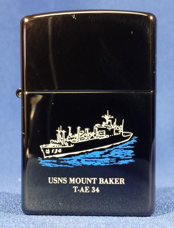 ZIPPO 2002 USNS MOUNT BAKER