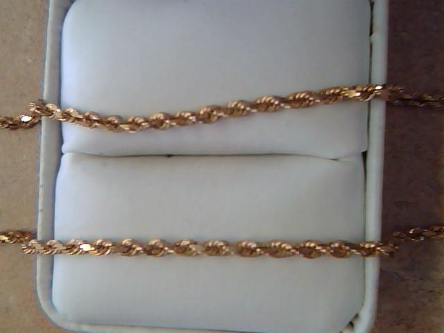 ROPE NECKLACE JEWELRY . ., 14KT,