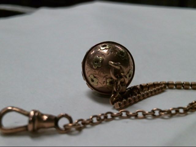 Gold-Misc. 10K Rose Gold 5.9g
