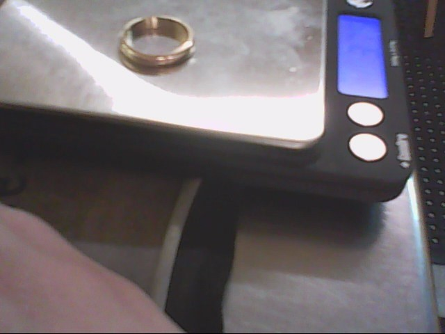 Lady's Gold Ring 14K Yellow Gold 3.75g