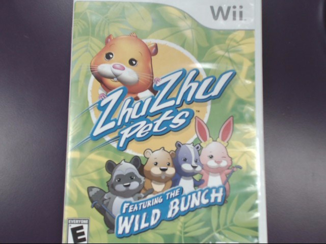 ZhuZhu Pets: Featuring the Wild Bunch (Nintendo Wii, 2010)