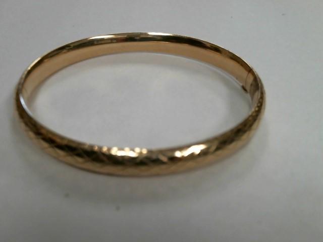 Gold Bracelet 14K Yellow Gold 9.8dwt