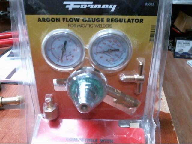 FORNEY ARGON FLOW GAUGE REGULATOR