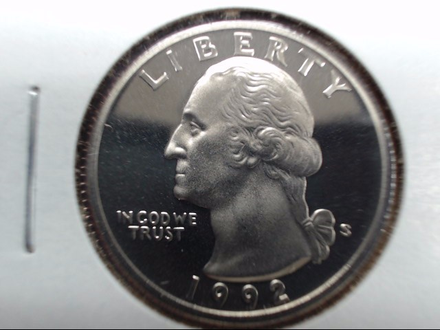 1992-S UNITED STATES PROOF QUARTER COIN