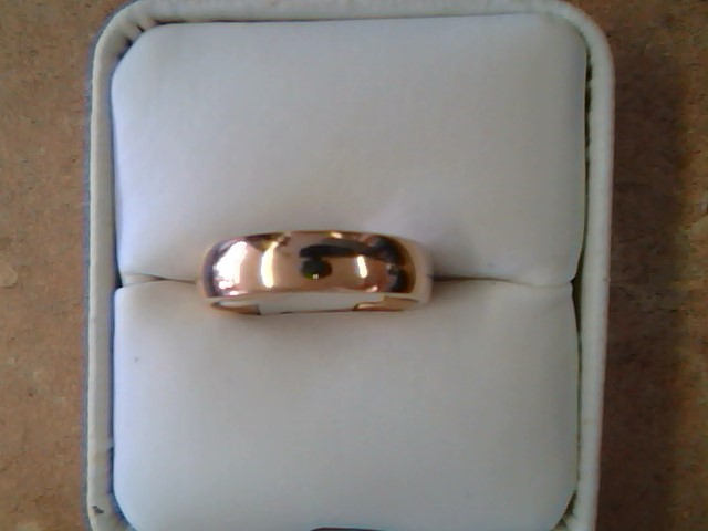 BAND RING JEWELRY , 14KT, 5.50 G