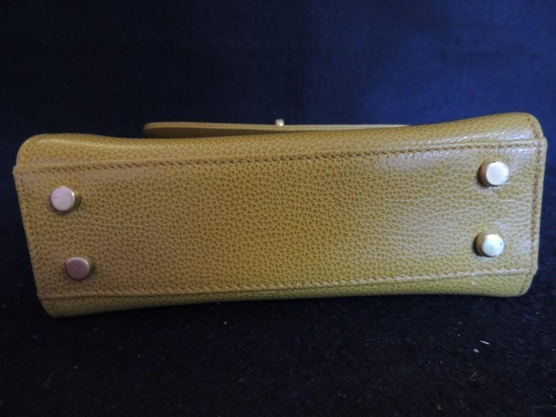 Coach MADISON GRACIE BAG 4413 Italian Textured Leather Shoulder Hand bag Purse