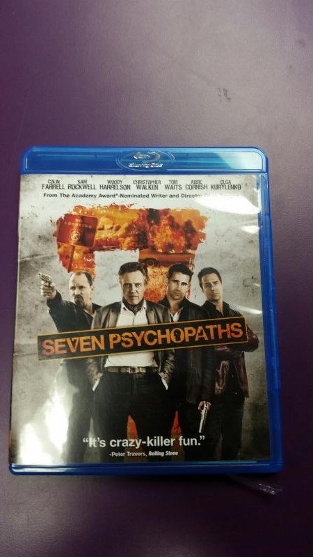 BLU-RAY MOVIE SEVEN PSYCHOPATHS