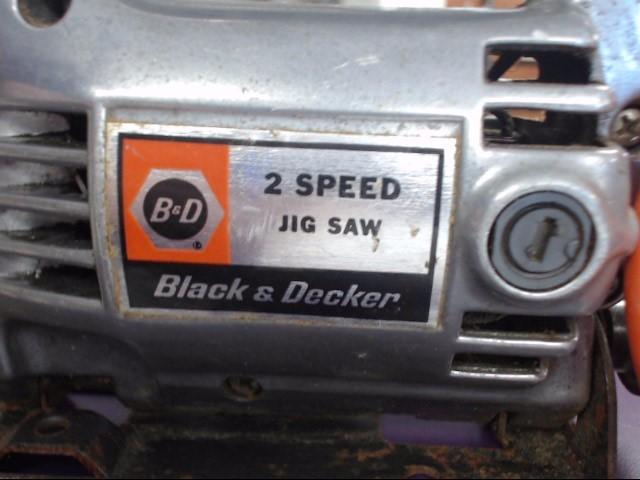 VINTAGE BLACK & DECKER JIG SAW 7535