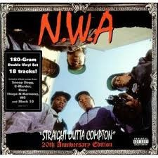 PRIORITY RECORDS N.W.A. STRAIGHT OUT OF COMPTON 20TH ANNIVERSARY EDITION ALBUM