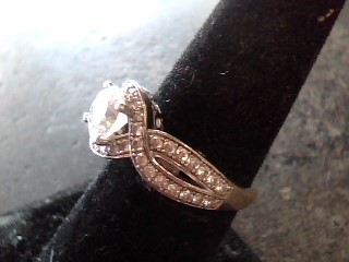 Lady's Silver Ring 925 Silver 2.6dwt