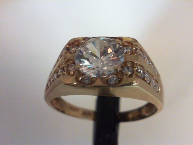 Gent's Gold Ring 10K Yellow Gold 6.6g