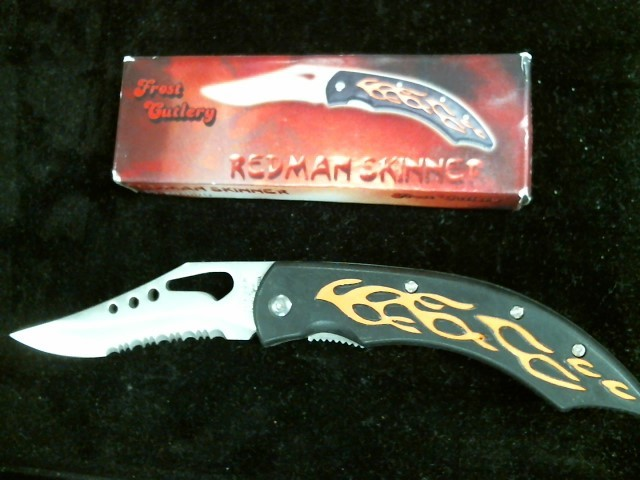 FROST CUTLERY Pocket Knife REDMAN SKINNER