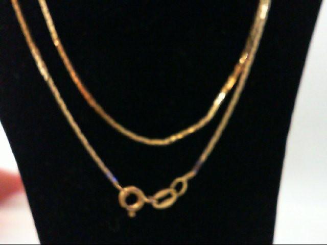 "24"" Gold Chain 14K Yellow Gold 4.3g"