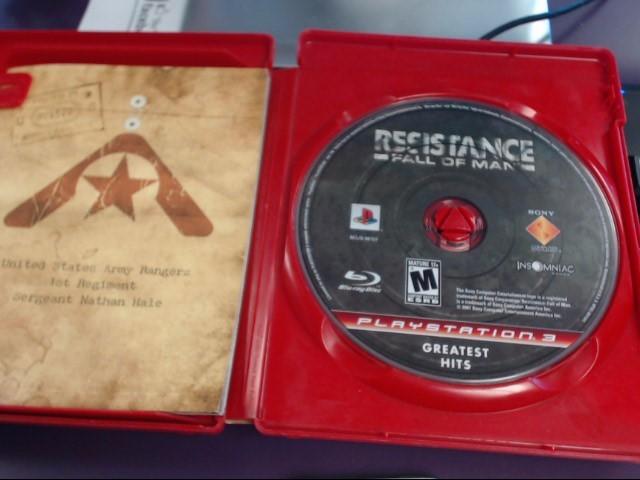 INSOMNIAC GAMES Sony PlayStation 3 RESISTANCE: FALL OF MAN (GH)-PS3