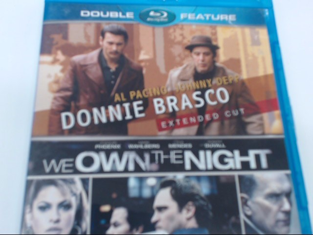 DONNIE BRASCO & WE OWN THE NIGHT - BLU-RAY DOUBLE FEATURE