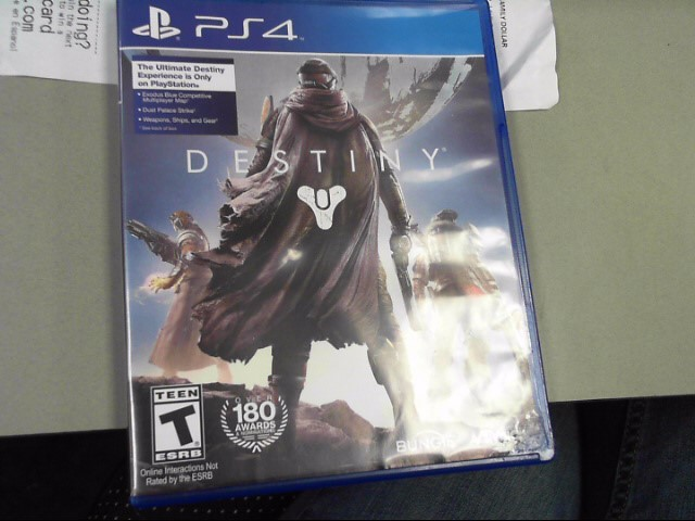 SONY Sony PlayStation 4 DESTINY PS4
