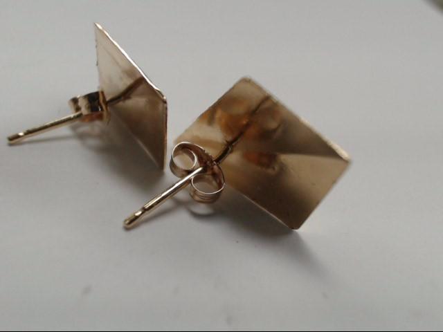 Gold Earrings 14K Yellow Gold 0.97g