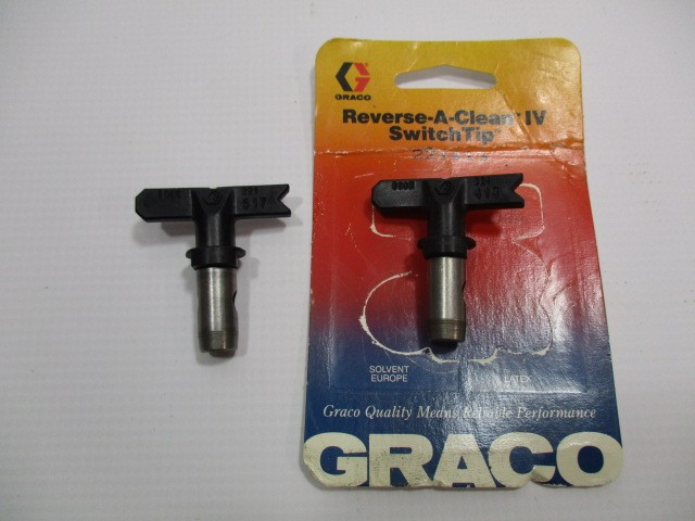 GRACO Airless Sprayer REVERSE-A-CLEAN IV SWITCHTIP