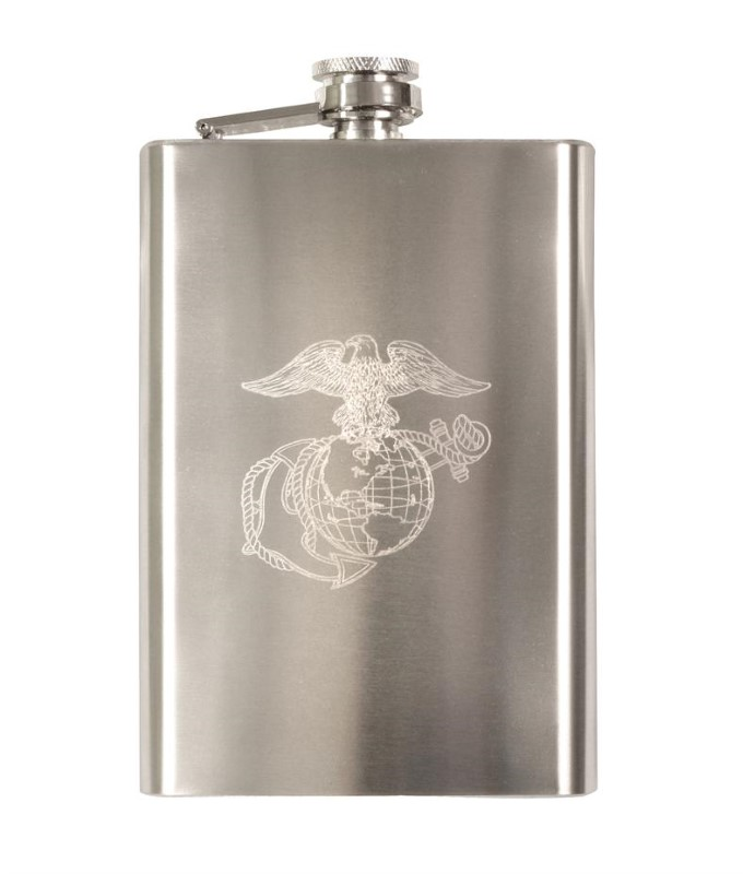 ROTHCO Outdoor Sports ENGRAVED STAINLESS STEEL FLASKS