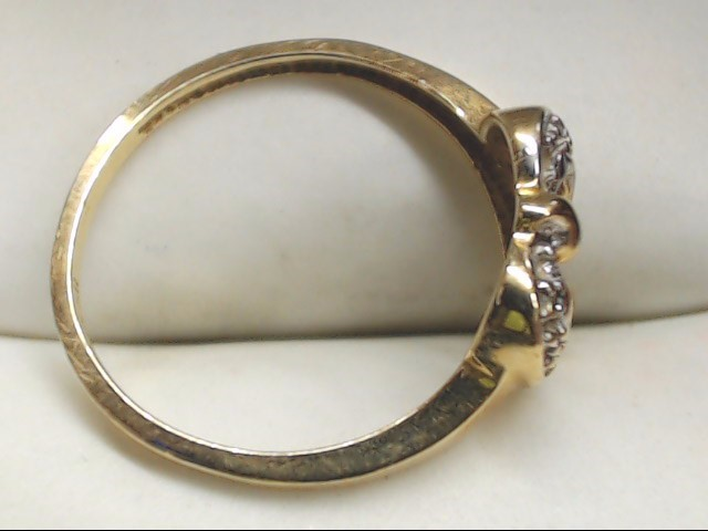 Lady's Gold Ring 10K Yellow Gold 1.4g Size:6