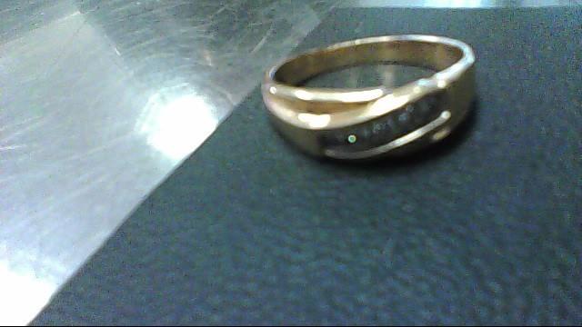 Lady's Diamond Fashion Ring 5 Diamonds .25 Carat T.W. 14K Yellow Gold 6.6g