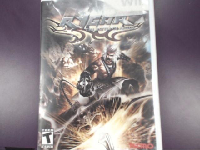 Rygar: The Battle of Argus (Nintendo Wii, 2009) Complete!