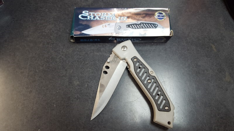 FROST CUTLERY Pocket Knife STORM CHASER III