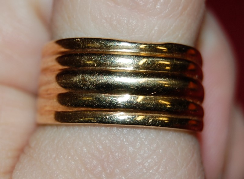 Gent's Gold Ring 10K Yellow Gold 3g Size:11