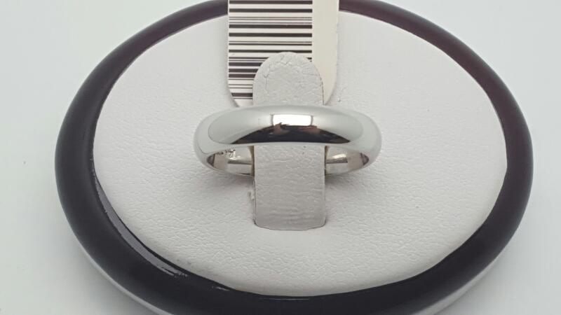 Lady's Gold Ring 14K White Gold 5.1g Size:7