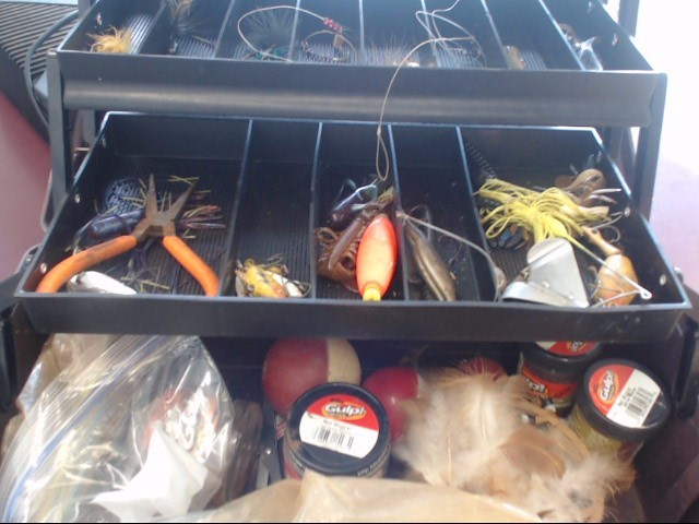 Fishing TACKLE BOX With TACKLE