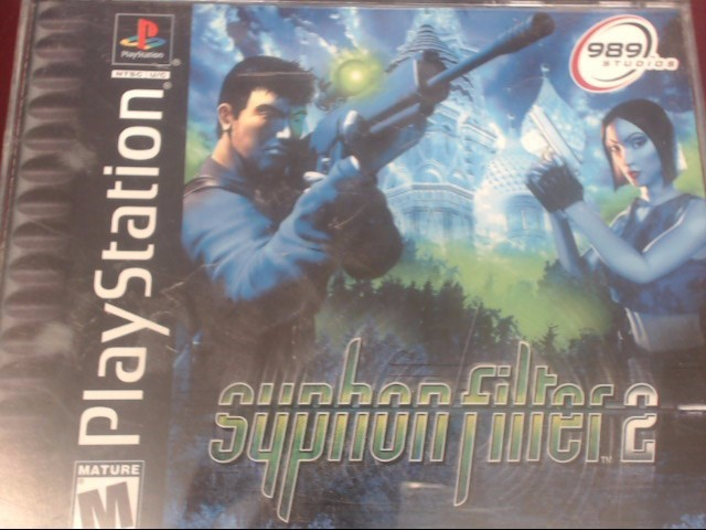 SONY PS1 SYPHON FILTER 2