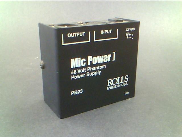 ROLLS PB23 PHANTOM MIC POWER I