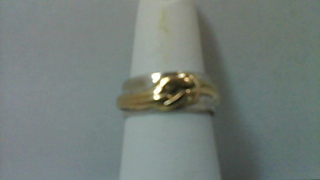 Silver/Gold Band Ring