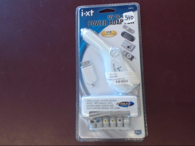 I-XT Battery/Charger POWER ADAPTER 10916