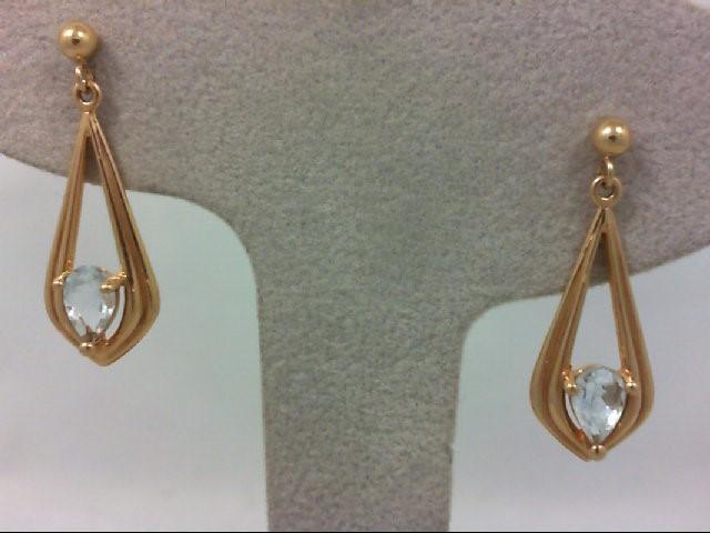 Gold Earrings 14K Yellow Gold 2.7g