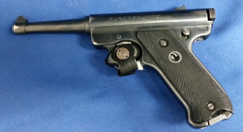 RUGER Pistol .22 LR PISTOL SEMI/AUTO